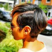 short relaxed hairstyles