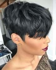 short haircuts black