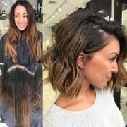short wavy hairstyles 2018