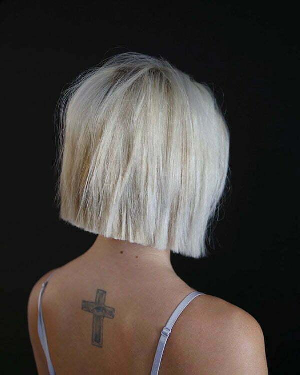 60 Best Short Straight Hairstyles 2018 2019