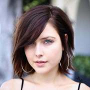 short hair with side