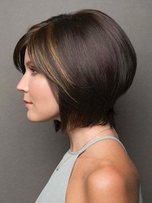 Elegante Kurzhaarschnitte Fr Dickes Haar Kurze Frisuren