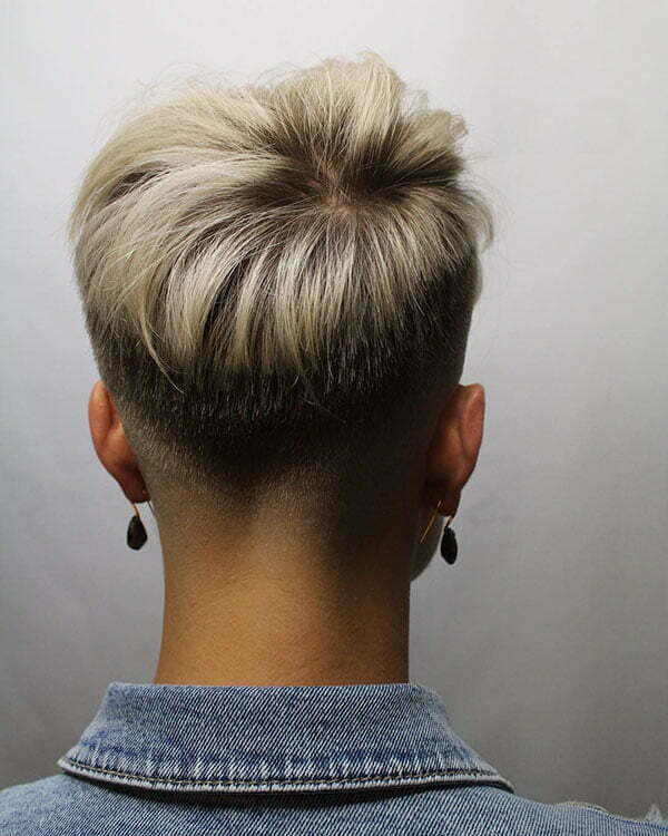 30 Best Short Hair Back View Images