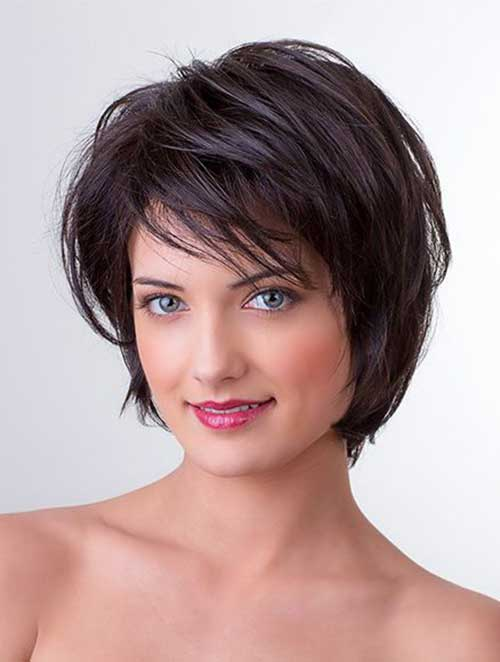 FLATTERING LAYERED SHORT HAIRCUTS FOR THICK HAIR , crazyforus