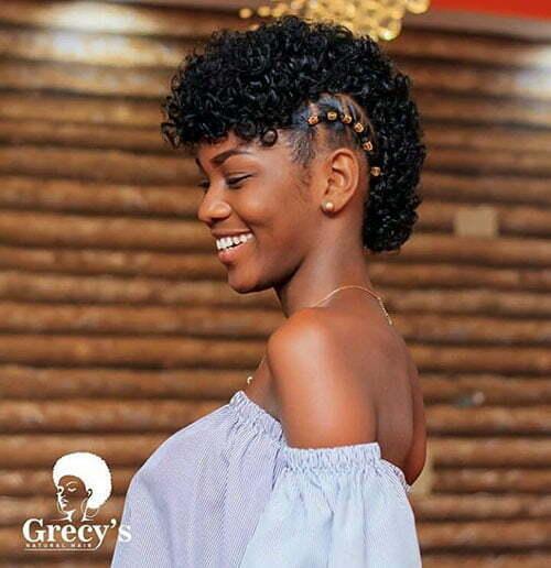Cute Natural Hairstyles For Short Hair