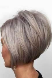 flattering layered short haircuts