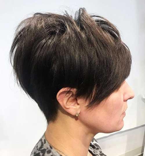 Flattering Layered Short Haircuts for Thick Hair  Short