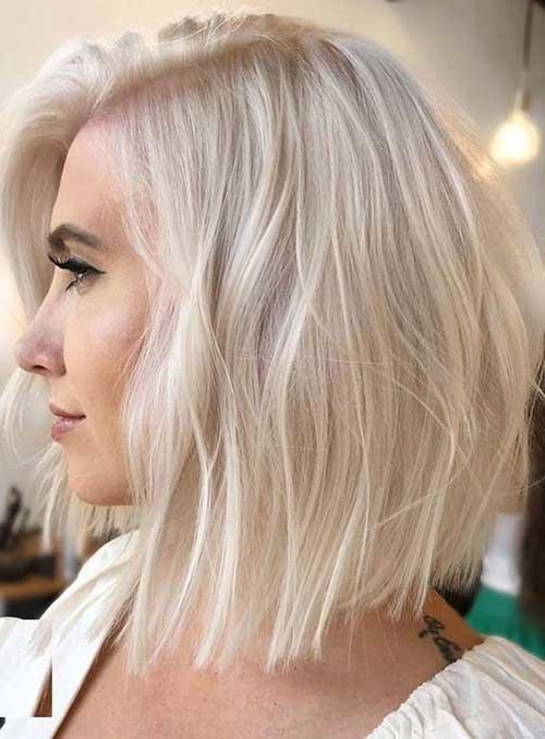 Modern Short Blonde Hairstyles-14