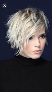 pics of layered short hair