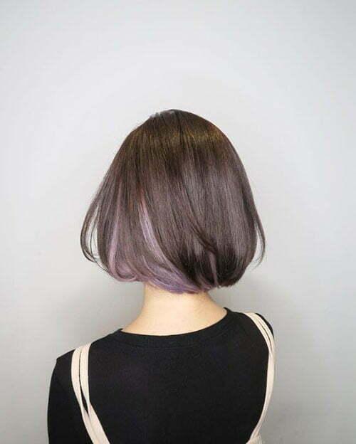 Short Dark Brown Hair-19