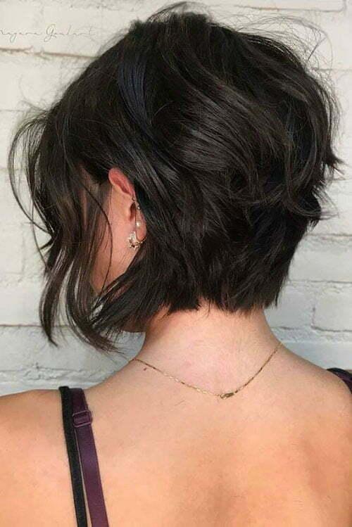 Short Dark Brown Hair-24