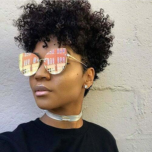 In Style Short Haircuts For Black Women Crazyforus