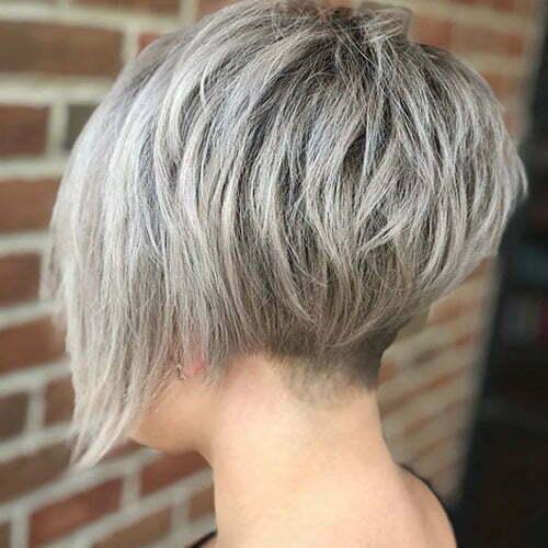Short Ash Blonde Hairstyles