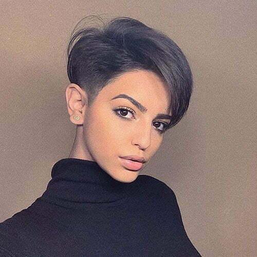 Short Dark Brown Hair-7