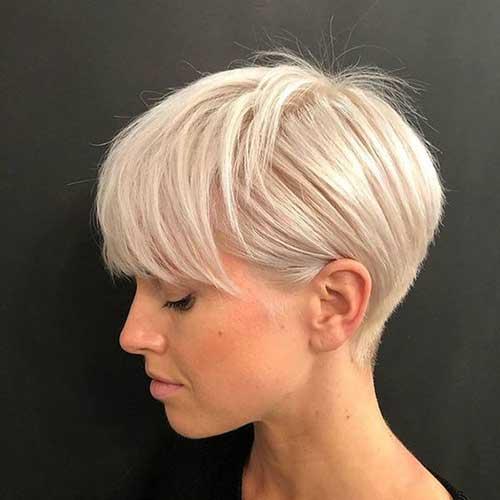 Modern Short Blonde Hairstyles