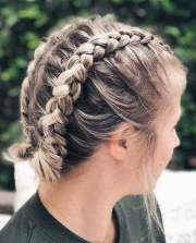 ideas of cute easy hairstyles