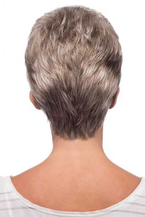 30 Back View Of Short Layered Haircuts  ShortHaircutcom