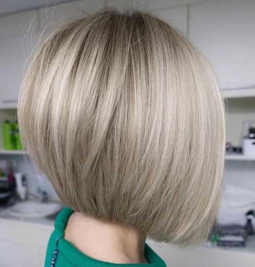 Short Ashy Blonde Hairstyles-14
