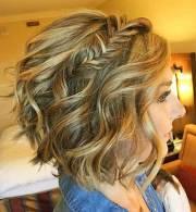 easy hairstyles short wavy