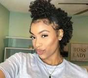 natural hairstyles short