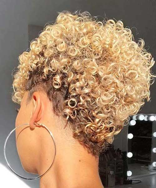 25 Best Short Hairstyles For Natural Hair Short Haircut Com