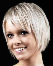 bob hairstyle with side