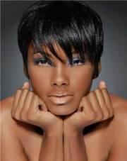 short haircuts black women