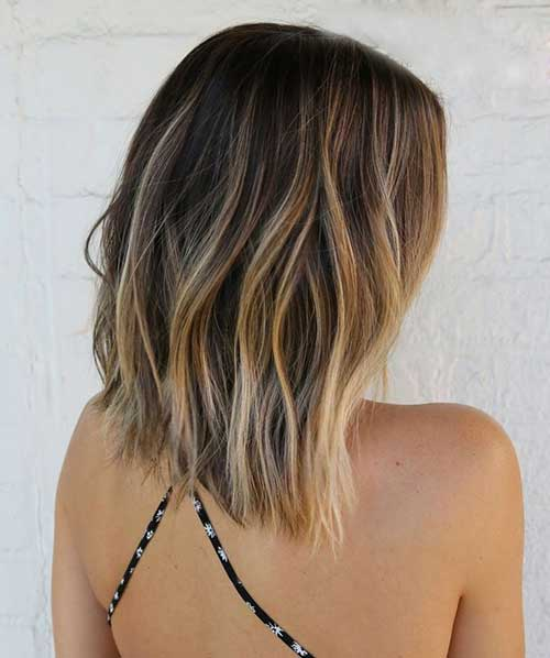 Golden Fade Ombre Hairstyle