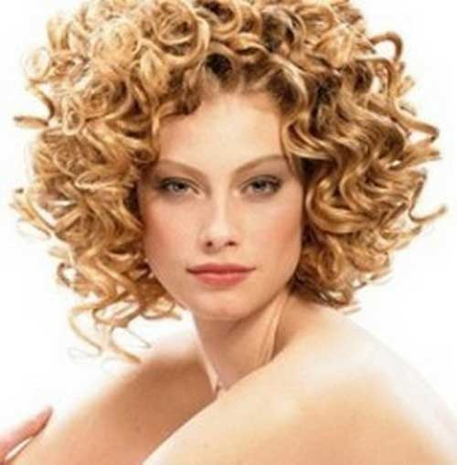 Short Curly Perm Hairstyles 2016