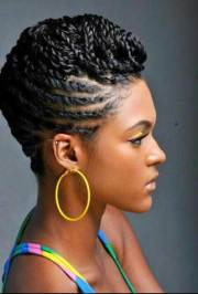 short braided hairstyles black