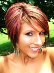 30 Hairstyles Short Hair With Red Streaks Hairstyles Ideas Walk