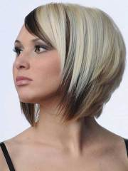 two color bob hairstyle