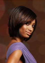 feathered layered bob hairstyle
