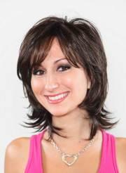 short medium haircuts women
