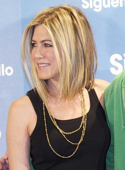 15 Spectacular Jennifer Aniston Long Bob Pictures Crazyforus