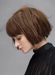 razor cut bob hair cuts with bangs