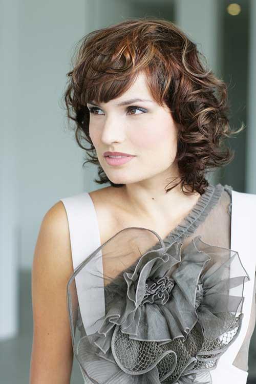15 Cute Hairstyles For Short Curly Hair Crazyforus