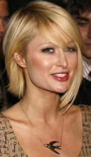 cute blonde bob haircuts thin