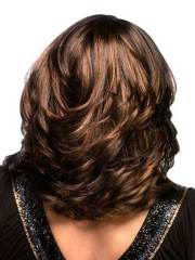 shoulder length thick layered hairstyles