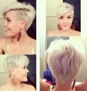 pixie haircut mohawk