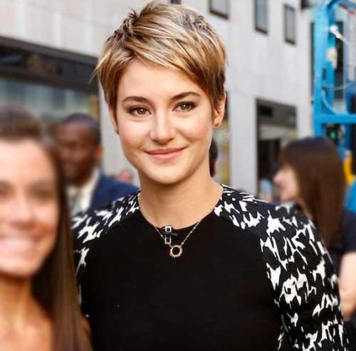 Shailene Woodley Short Hair
