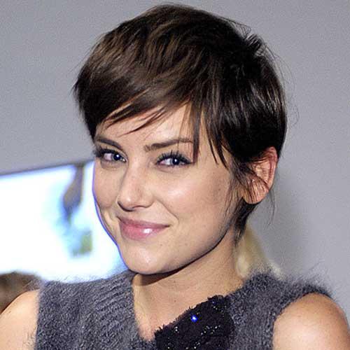 Jessica Stroup Short Hair Cut