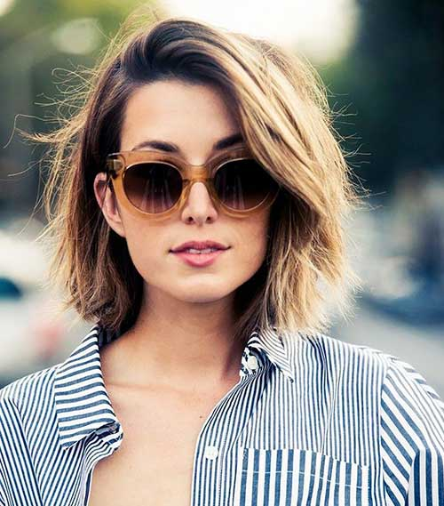 7 Short Hairstyles For Thick Hair  crazyforus