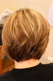 short stacked bob hairstyles