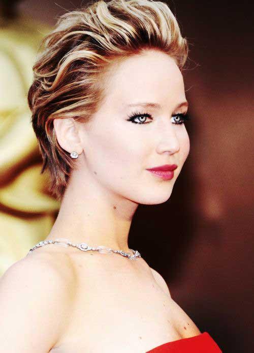 Jennifer Lawrence Short Hairstyle