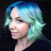 coolest short green hair ideas