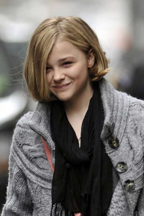 Chloe Grace Moretz Short Hairstyle