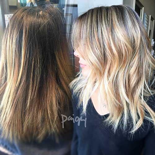 28 Balayage Colored Short Hair You Should See Short Hair