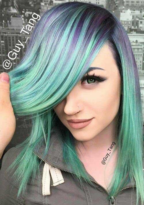 Coolest Short Green Hair Ideas for EyeCatching Looks