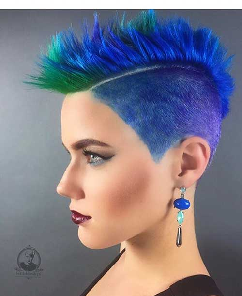 Unique And Stylish Short Blue Hair Ideas The Best Short